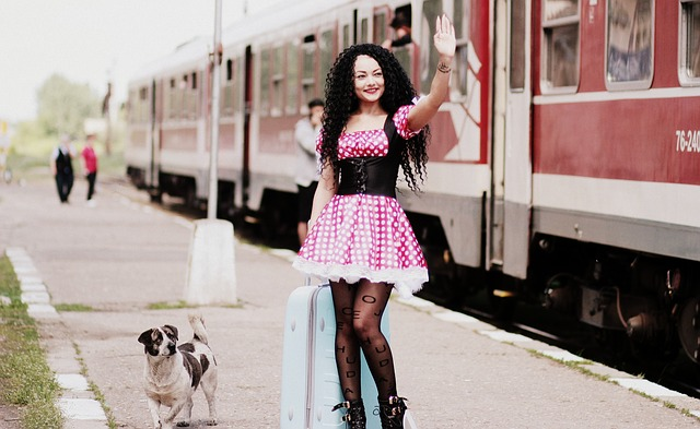 sem psem na nádraží