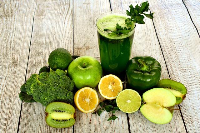 zelená šťáva