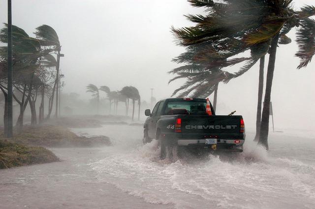 Hurikán na Floridě