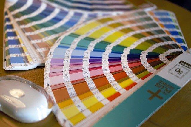 barevná škála